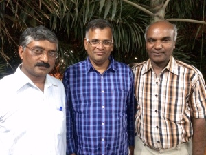 நிர்மால்யா மற்றும் ஜெயமோகனுடன்